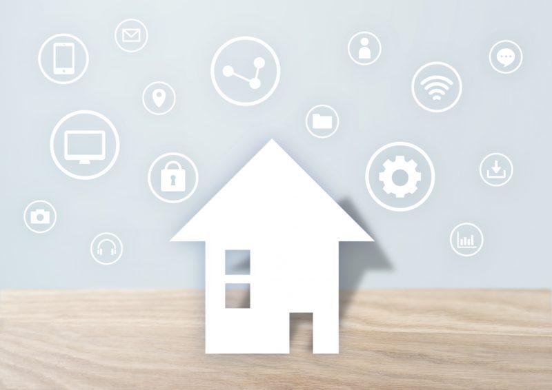 家とインターネット回線