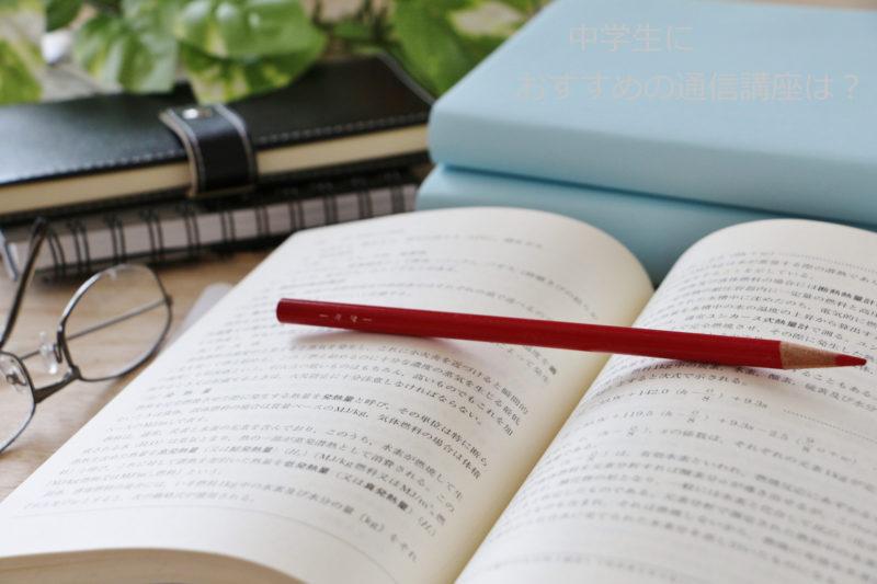 赤鉛筆と本